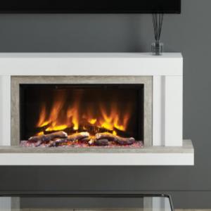 Vardo – 53″ Wall Mounted Electric Fireplace