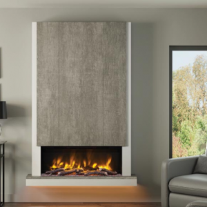 Camino – 53″ Wall Mounted Electric Fireplace